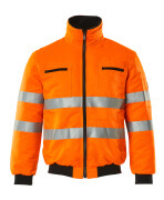 00516-660-14 Pilot Jacket - hi-vis orange