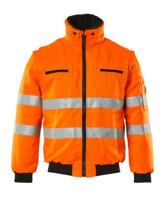 00520-660-14 Pilot Jacket - hi-vis orange