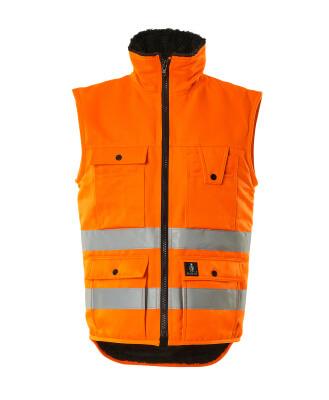 00554-660-14 Winter Gilet - hi-vis orange