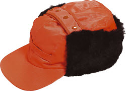 00692-660-14 Cap - hi-vis orange