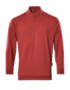 00785-280-02 Polo Sweatshirt - red