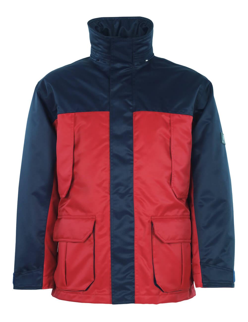 00930-650-21 Parka Jacket - red/navy