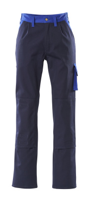 00955-630-111 Trousers with kneepad pockets - navy/royal