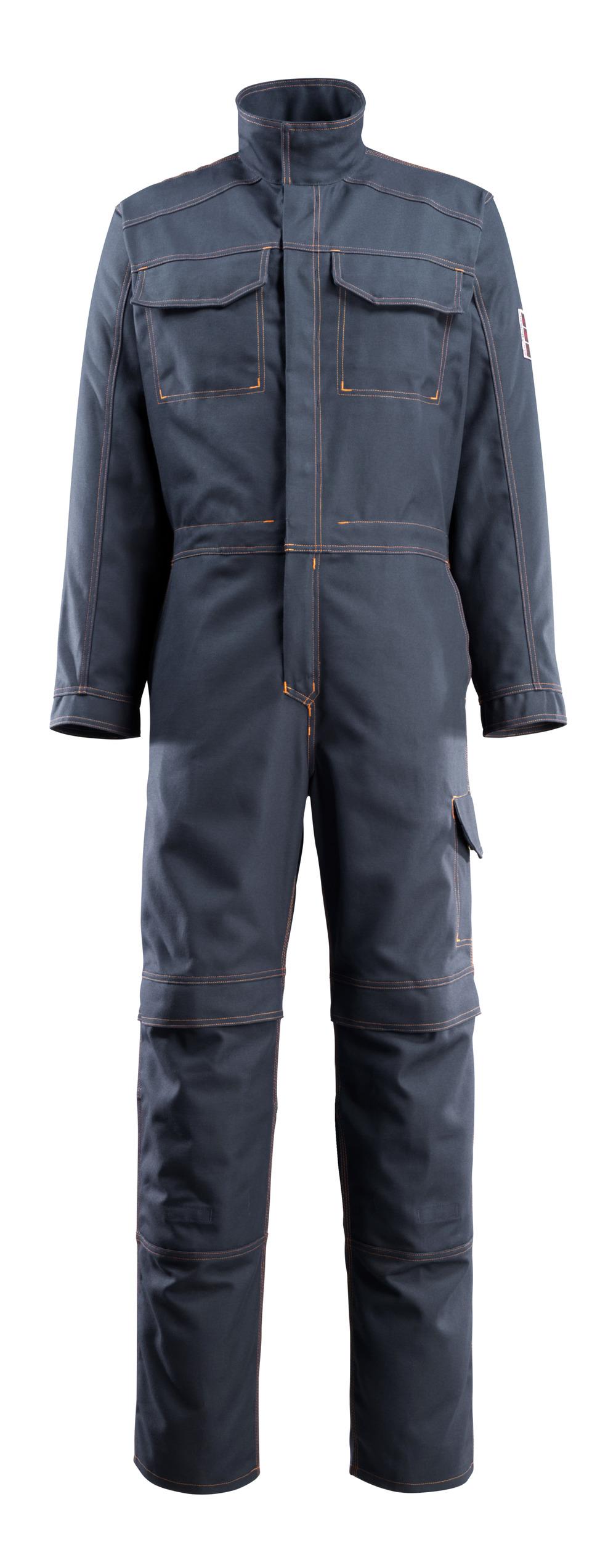 06619-135-010 Boilersuit with kneepad pockets - dark navy