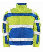 07109-470-1711 Jacket - hi-vis yellow/royal
