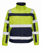 07109-470-171 Jacket - hi-vis yellow/navy