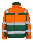 07123-126-1403 Pilot Jacket - hi-vis orange/green
