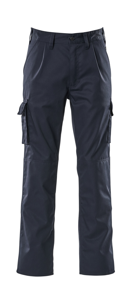 07479-330-01 Trousers with kneepad pockets - navy