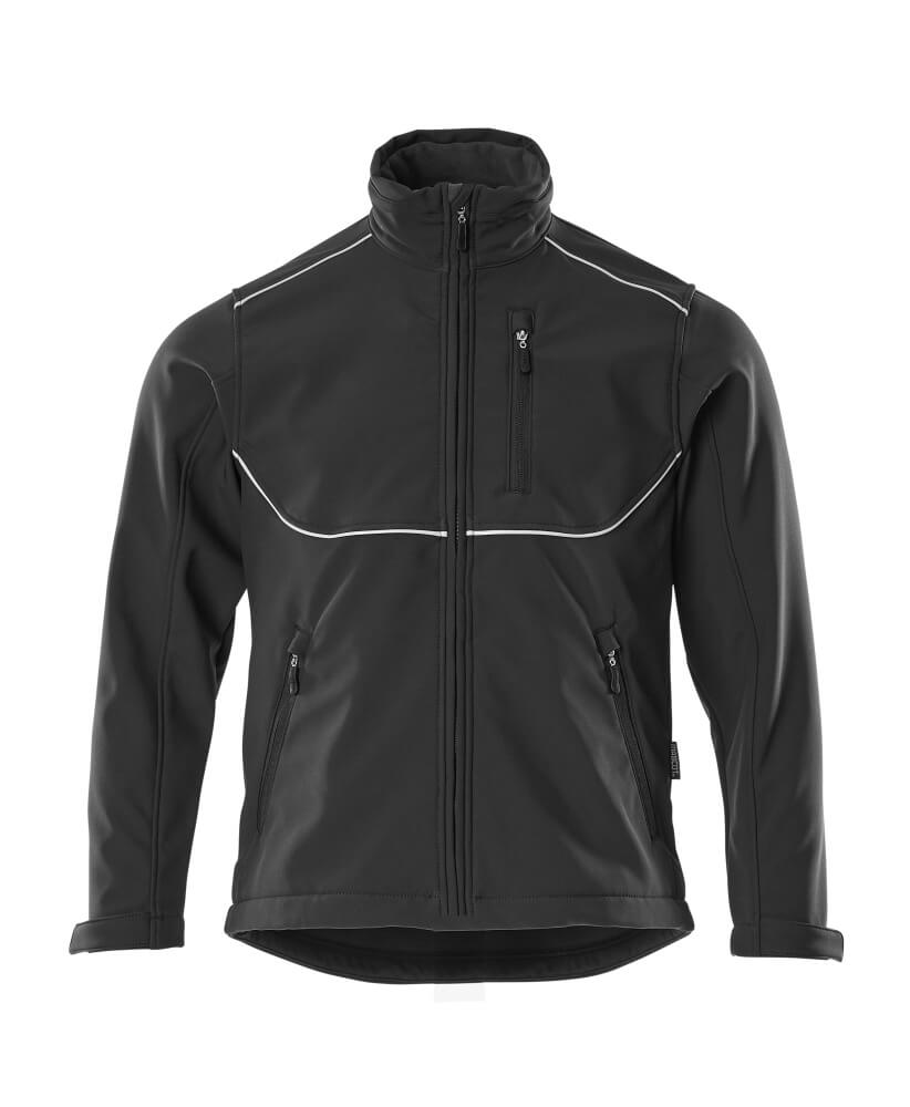 10001-883-09 Softshell Jacket - black