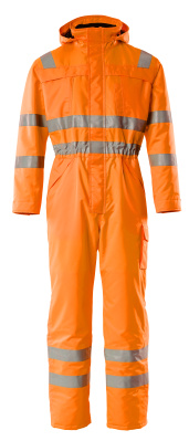 11119-880-14 Winter Boilersuit - hi-vis orange