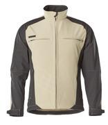12002-149-5509 Softshell Jacket - light khaki/black
