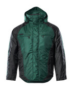 12035-211-0309 Winter Jacket - green/black
