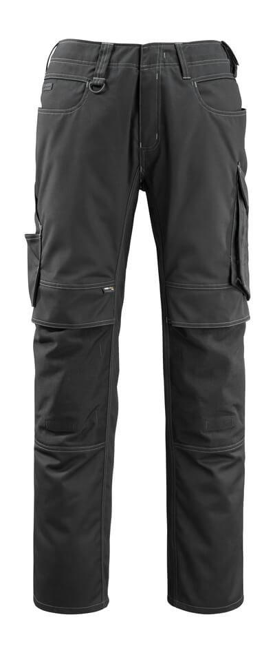 12479-203-010 Trousers with kneepad pockets - dark navy