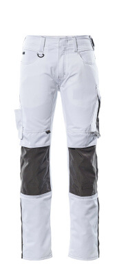 12679-442-0918 Trousers with kneepad pockets - black/dark anthracite