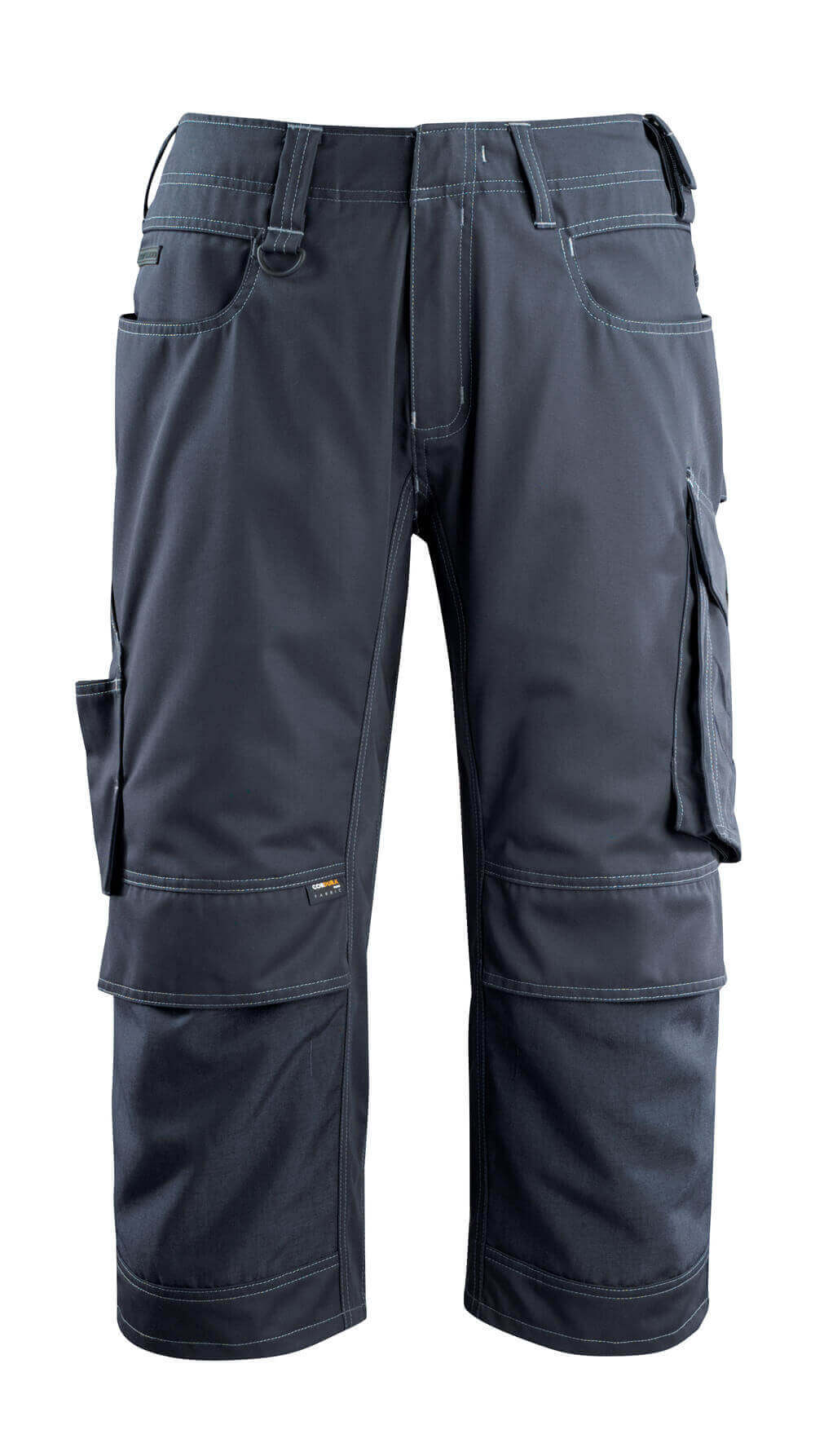 14249-442-010 ¾ Length Trousers with kneepad pockets - dark navy