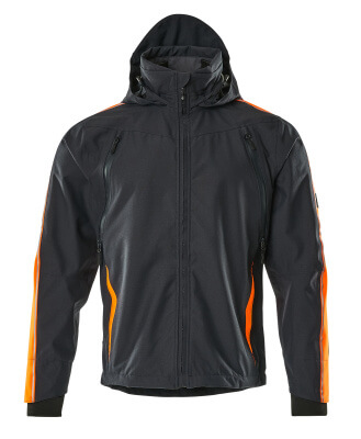 15001-222-0917 Outer Shell Jacket - black/high-visibility hi-vis yellow