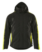 15035-222-0917 Winter Jacket - black/high-visibility hi-vis yellow