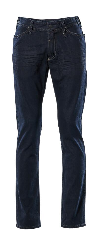 15379-869-66 Jeans - washed dark blue denim