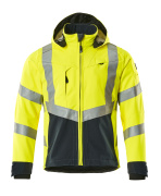 15502-246-14010 Softshell Jacket - hi-vis orange/dark navy