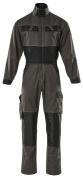 15719-330-1809 Boilersuit with kneepad pockets - dark anthracite/black