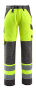 15979-948-1418 Trousers with kneepad pockets - hi-vis orange/dark anthracite