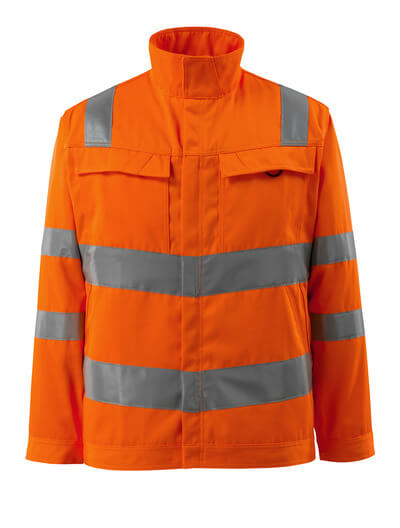 16909-860-14 Jacket - hi-vis orange