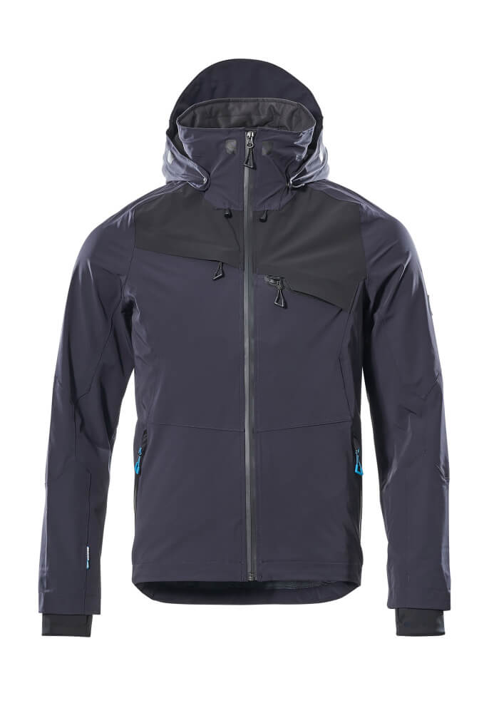 17001-411-01009 Outer Shell Jacket - dark navy/black