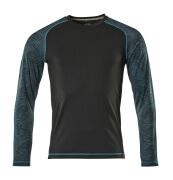 17281-944-09 T-shirt, long-sleeved - black