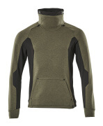17584-319-3309 Sweatshirt - moss green/black