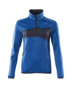 18053-316-010 Fleece Jumper with half zip - dark navy