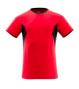 18082-250-20209 T-shirt - traffic red/black