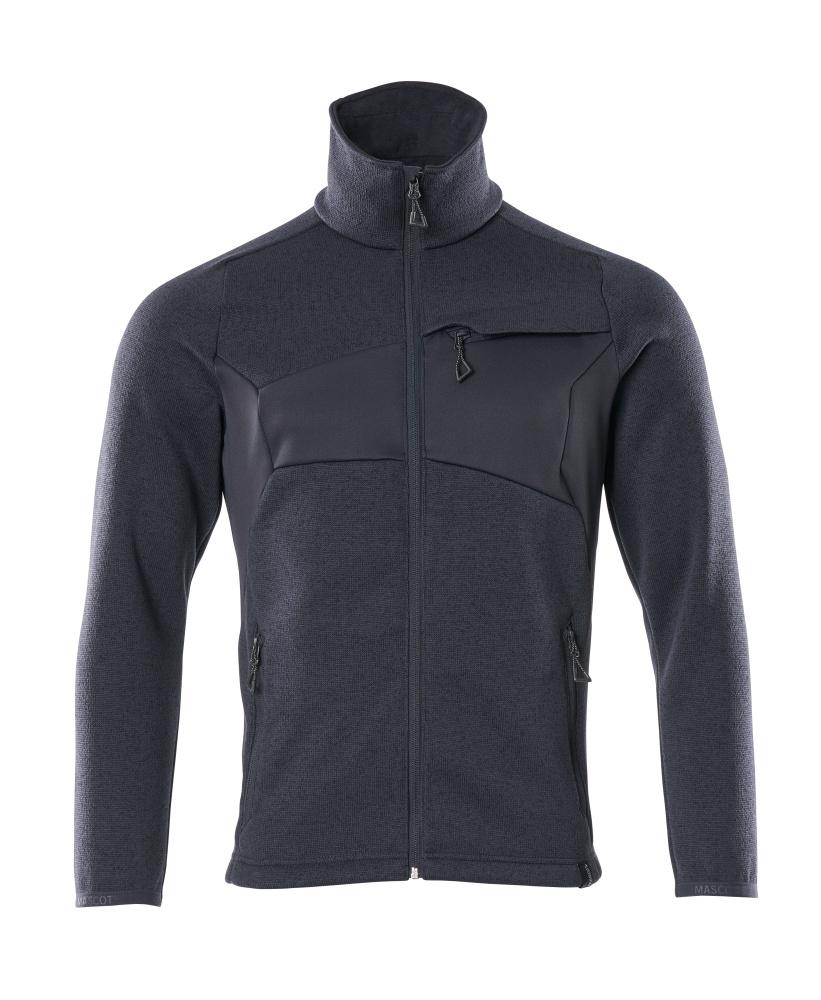 18105-951-010 Knitted Jumper with zipper - dark navy