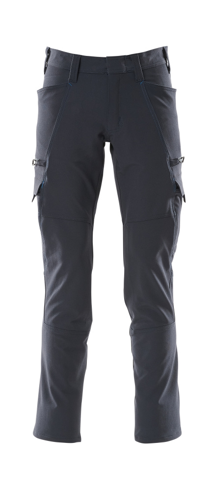 18279-511-010 Trousers with thigh pockets - dark navy