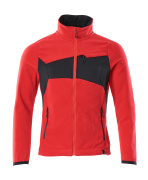 18303-137-20209 Fleece Jacket - traffic red/black