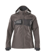 18311-231-1809 Outer Shell Jacket - dark anthracite/black