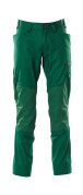 18379-230-03 Trousers with kneepad pockets - green