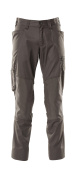 18379-230-18 Trousers with kneepad pockets - dark anthracite
