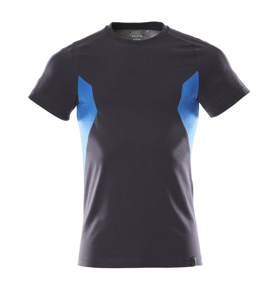 18382-959-01091 T-shirt - dark navy/azure blue