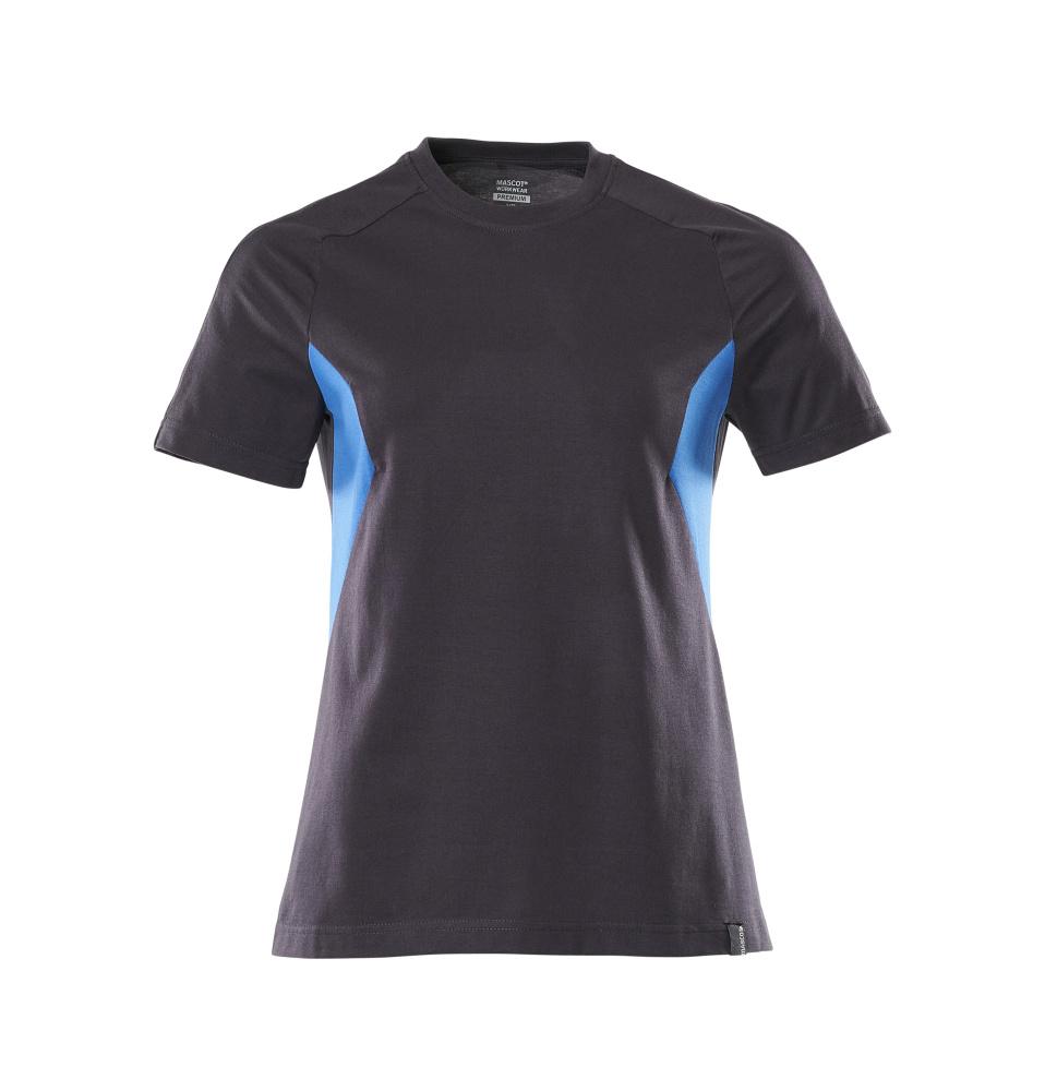 18392-959-01091 T-shirt - dark navy/azure blue