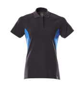 18393-961-01091 Polo shirt - dark navy/azure blue