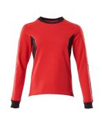 18394-962-20209 Sweatshirt - traffic red/black