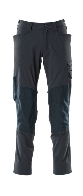 18479-311-010 Trousers with kneepad pockets - dark navy