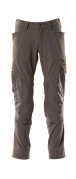 18479-311-18 Trousers with kneepad pockets - dark anthracite