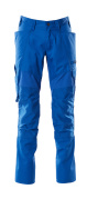 18579-442-91 Trousers with kneepad pockets - azure blue