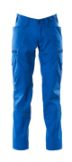 18679-442-91 Trousers with thigh pockets - azure blue