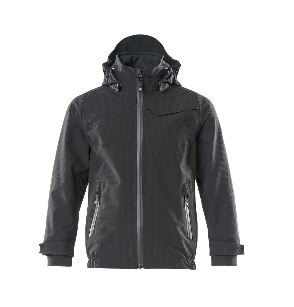 18901-249-09 Outer Shell Jacket for children - black