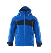 18901-249-91010 Outer Shell Jacket for children - azure blue/dark navy