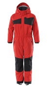 18919-231-20209 Snowsuit for children - traffic red/black