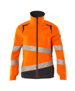 19008-511-14010 Jacket - hi-vis orange/dark navy