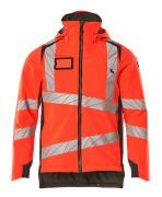 19035-449-22218 Winter Jacket - hi-vis red/dark anthracite